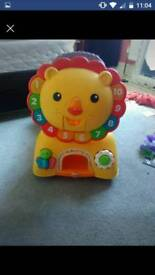 Ride along lion toy