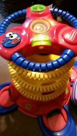 2 FISHER PRICE toys Light up and musical ball tower