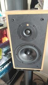 Kef Cresta 2 speakers on mission stands (open to offers)
