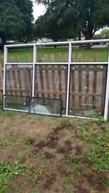 UPVC window frame and sealed units