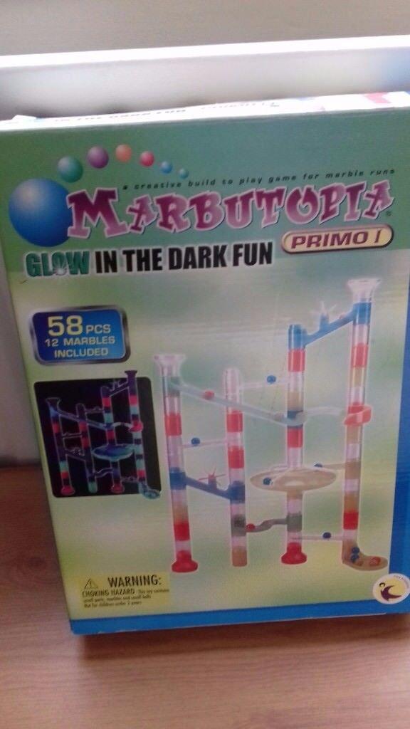 Glow in the Dark Marble Run