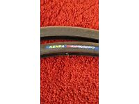 Pair of Kendall Concept 700x23 Road Bike Tyres