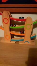 Click Clack Track - wooden toy ELC