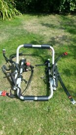 universal bike rack for car for sale. Good condition. Collect only Harrogate.