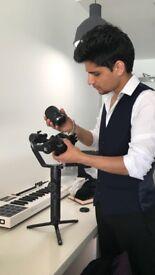 4K Video Shoot   Photography   Music video shoot/ documentaries.