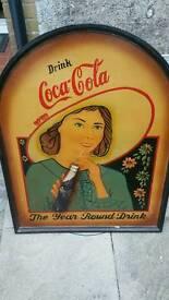 Coke cola sign