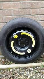 Mercedes Space Saver Spare Wheel