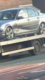 """Cheap!!! Bmw 18"""" alloys and run flat tyres"""