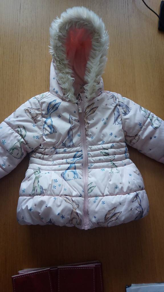 REDUCED Next girls winter coat age 18mths-2yrs