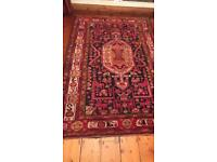 Vintage Persian colourful rug