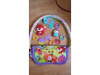 3 in 1 baby activity gym mat