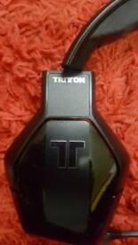 Tritton wired headset