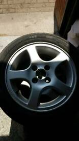 Golf mk2 alloy wheels