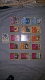 Fresh from booster pack 16 pokemon cards 1.50