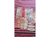 Baby girls clothing 0-1 month and newborn