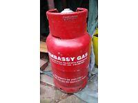 Calor gas bottle (refillable )11kg. With nozzle for bbq.