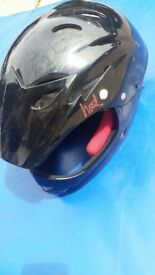 Childs bike helmet full face