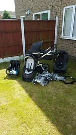 3 in 1 push chair