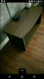 Hygena walnut coffee table