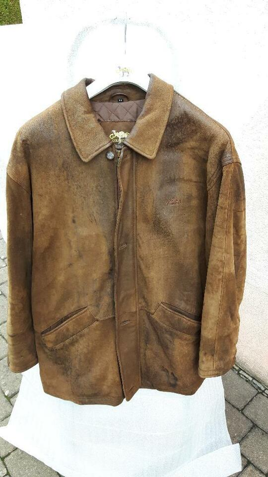 CAMEL COLLECTION Lederjacke GR. 56