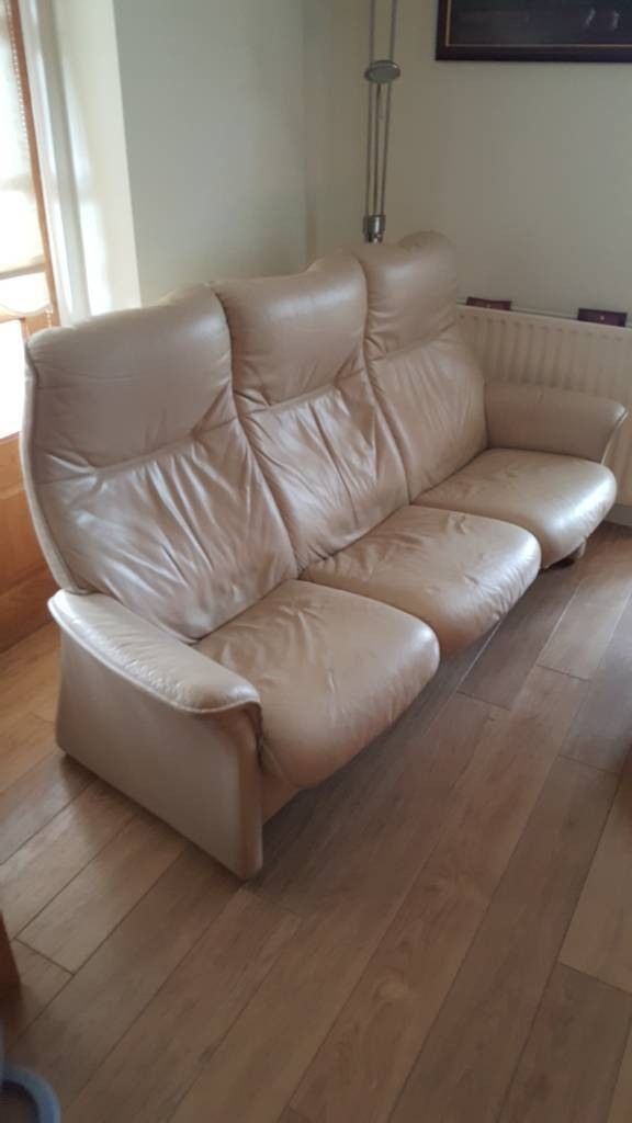 3pc leather recliners