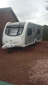 Swift Conqueror Touring Caravan 2011