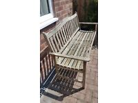 Free Garden bench and table