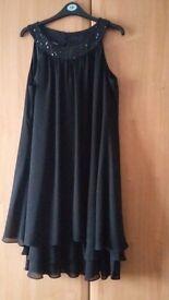 Size 14, Autograph Black Dress