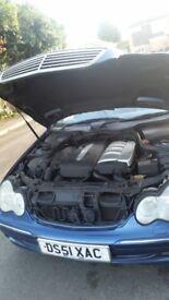 Mercedes 2002, CDI Avantgarde, 4 door saloon. (Automatic)