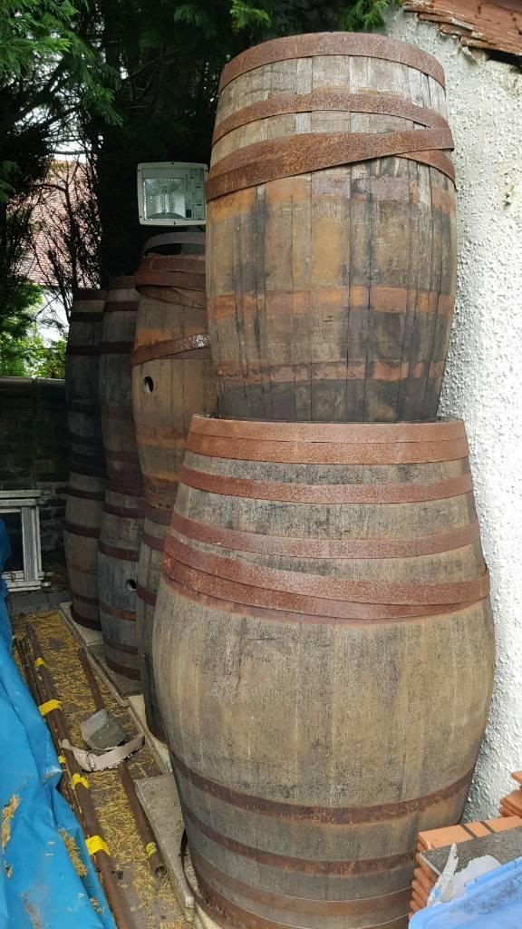 OAK WHISKEY BARRELSin Kelvinbridge, GlasgowGumtree - I have 7 large oak whiskey barrels @ £50 EACH.And1 extra large one at £ 80 There are based in Giffnock area