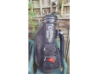 Lynx Golf clubs and Odyssey Deepface Rossie 2 plus Callaway Bag.