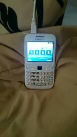 Samsung white phone