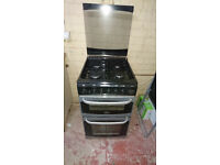 Cannon Oakley Gas Cooker, Black, 4 Hob, Oven & Grill, Used but in perfect working condition