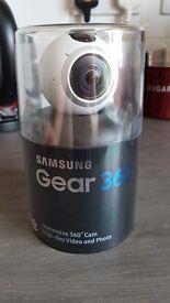 Samsung Gear 360 Camera.