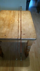 Vintage Hardy Pope 2 Piece Seatrout Rod with Bag