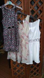 assortment of summer dresses