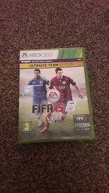 Xbox 360 FIFA 15 ultimate team edition