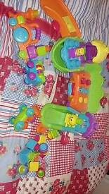 Fisher price stacking surprise silly town