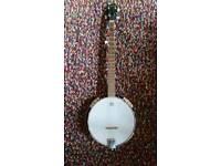 5 string ashwood banjo
