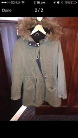 Two lady's coats size 14/16