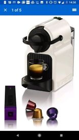 Nespresso inissia coffee machine brand new