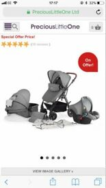 I'm selling a grey moov pushchair in really good condition only got a few marks on car seat