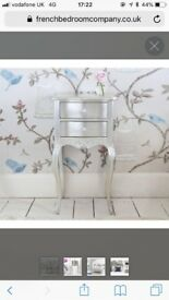 French Style Bedside Table (in perfect condition) £220 or best offer