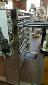 Quality clothes shop gondola