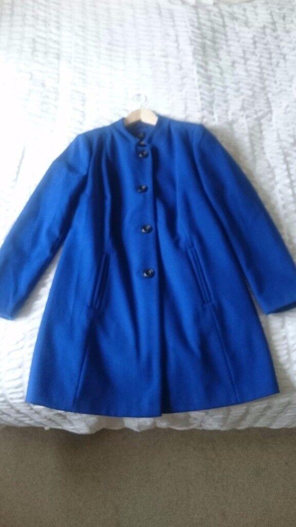 Marks and Spencer Cobalt (Blue) COAT Size 12