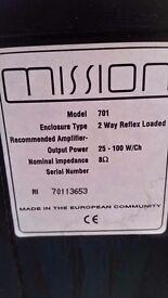 Mission speakers x 2