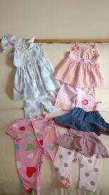 Girls clothing bundle age 6 months