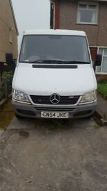 Mercdes sprinter van good runner. MOT till March 2019 selling as looking for a smaller van.