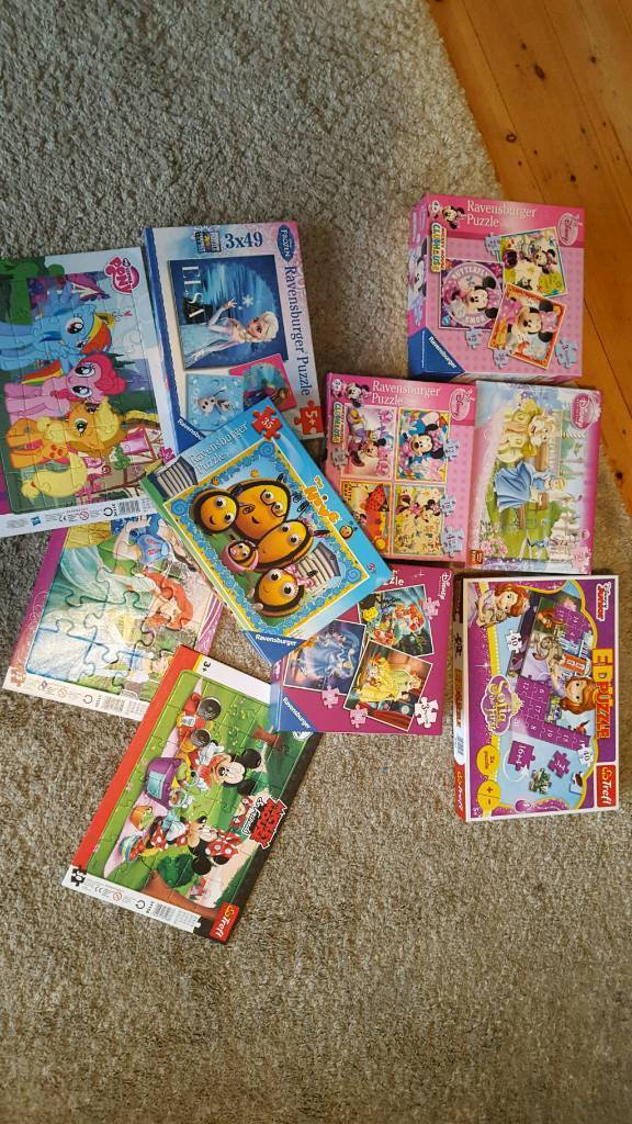 10 jigsaws age 3 to 5+