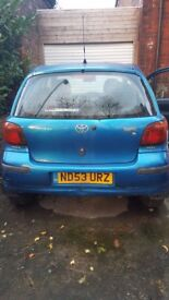 2003 Toyota Yaris for sale